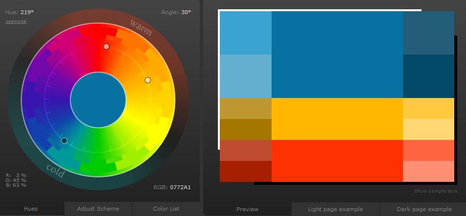 nice color scheme designer blogchrisrussellnet - Color Scheme Designercom